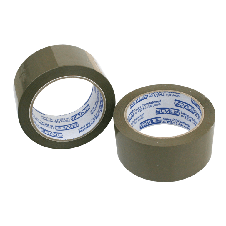 brown tape 48mm x 75m 1 768x768 - 4875RUBBERBRO Tape - Natural Rubber PP202 (Brown)