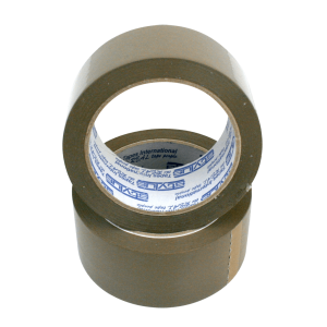 brown tape 48mm x 75m 2 300x300 - 4875RUBBERBRO Tape - Natural Rubber PP202 (Brown)