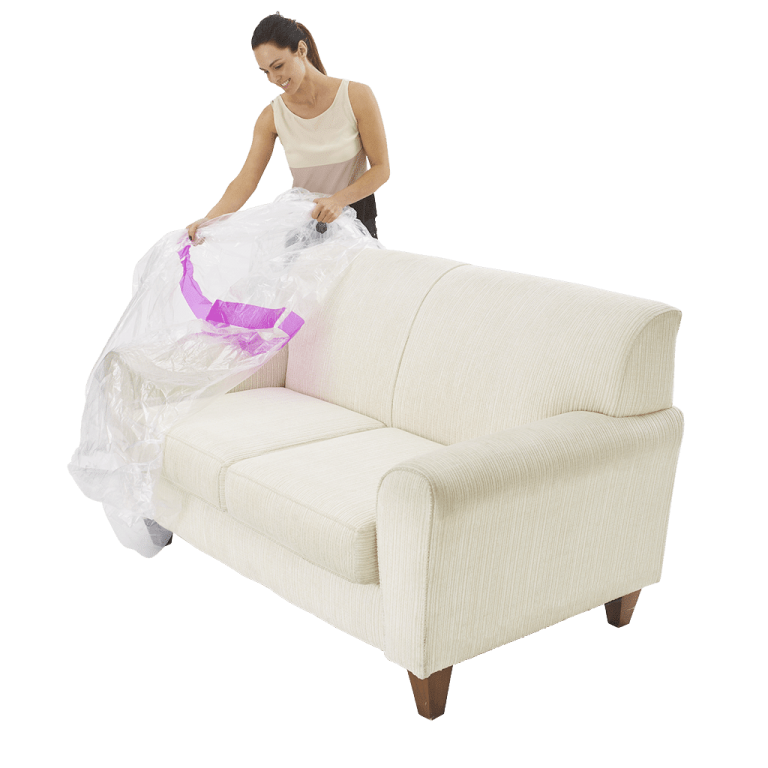 furniture cover 3 seater couch individual pack 3 768x768 - BP3S - Plastic Furniture Cover – 2/3 Seater Couch (Pack of 1)