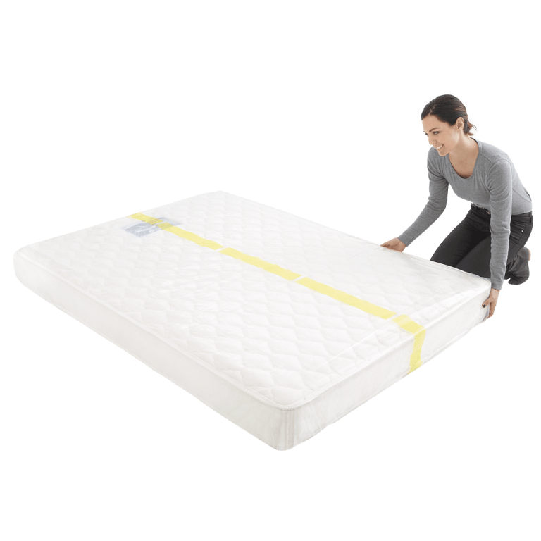 mattress cover king individual pack 2 768x768 - Plastic Mattress Cover - King (Pack of 1)