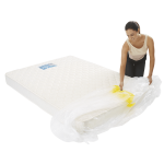mattress cover king individual pack 3 150x150 - Plastic Mattress Cover - King (Pack of 1)