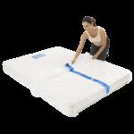 mattress cover queen individual pack 2 150x150 - BPQM Plastic Mattress Cover – Double / Queen (Pack of 1)
