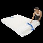 mattress cover queen individual pack 7 150x150 - BPQM Plastic Mattress Cover – Double / Queen (Pack of 1)
