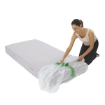 mattress cover single individual pack 2 150x150 - Plastic Mattress Cover - Single (Pack of 1)