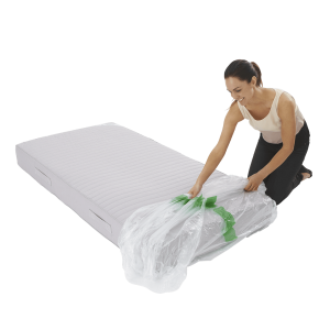 mattress cover single individual pack 2 300x300 - Plastic Mattress Cover - Single (Pack of 1)