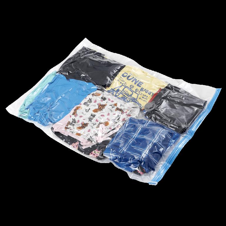 storage saver vacuum seal bag small 2 768x768 - VACUUM9070 Vacuum Sealed Bags - Small (pack of 2)