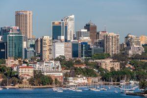North Sydney Cityscape